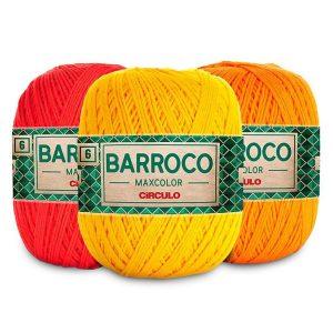 Barbante Barroco nº6 200g Maxcolor - Circulo