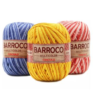 Barbante Barroco Nº6 200g Multicolor - Circulo