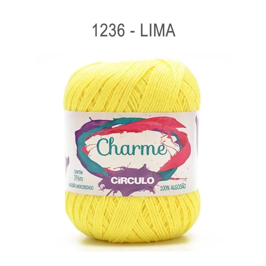 Linha Charme 396m Cores Lisas - Circulo - 1236 - Lima