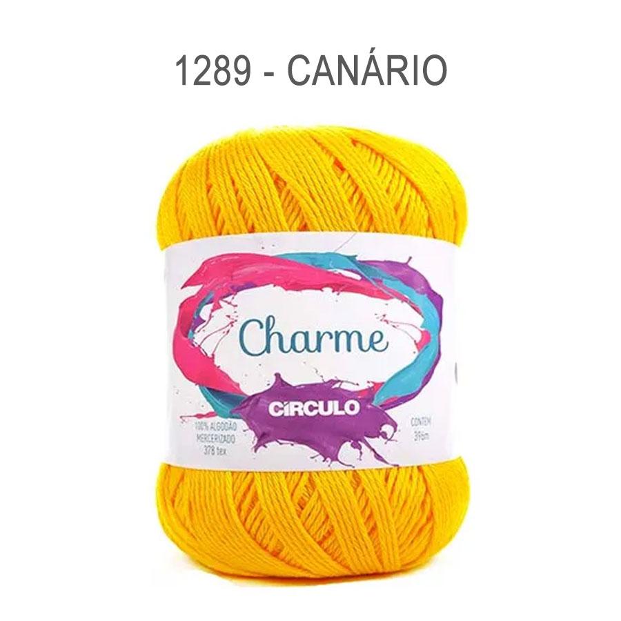 Linha Charme 396m Cores Lisas - Circulo - 1289 - Canário