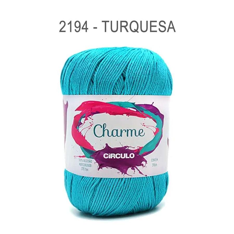 Linha Charme 396m Cores Lisas - Circulo - 2194 - Turquesa