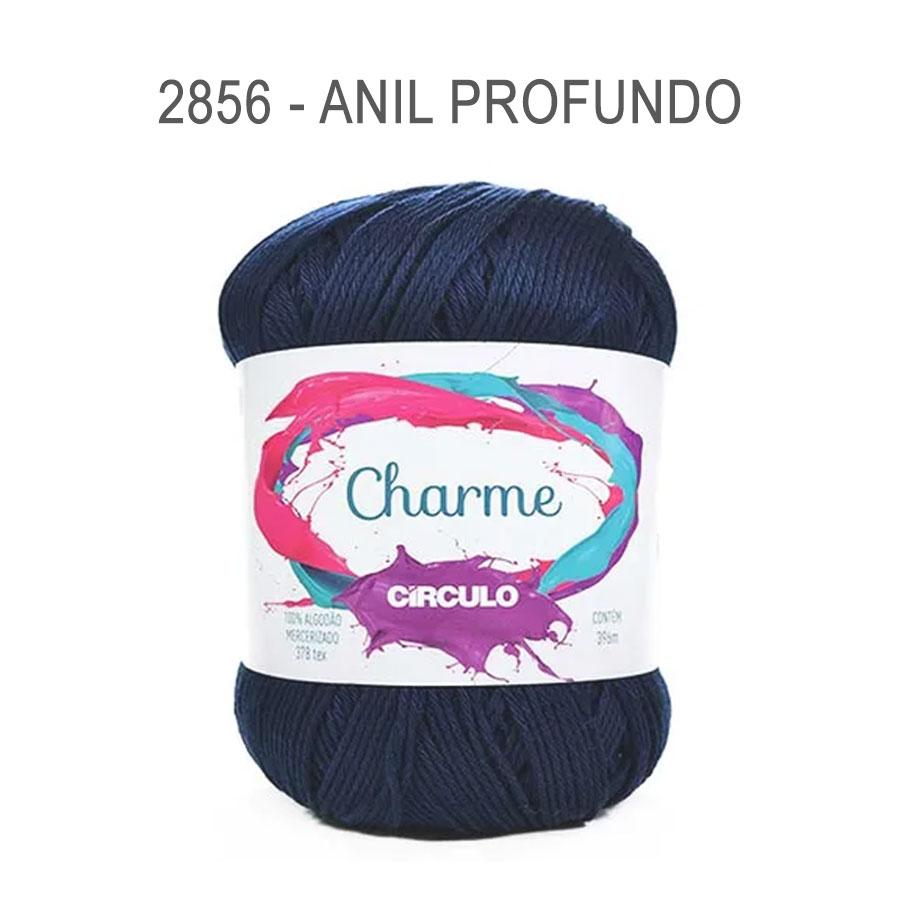 Linha Charme 396m Cores Lisas - Circulo - 2856 - Anil Profundo