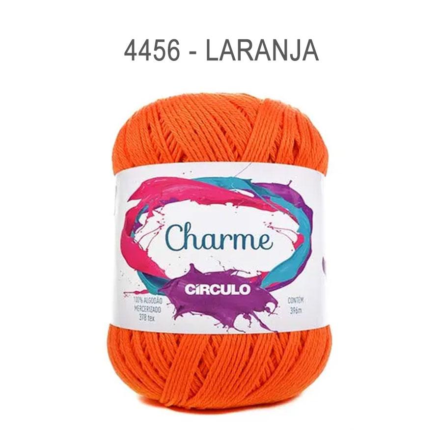 Linha Charme 396m Cores Lisas - Circulo - 4456 - Laranja