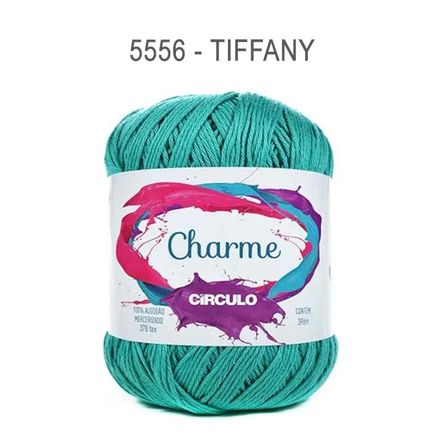 Linha Charme 396m Cores Lisas - Circulo - 5556 - Tiffany