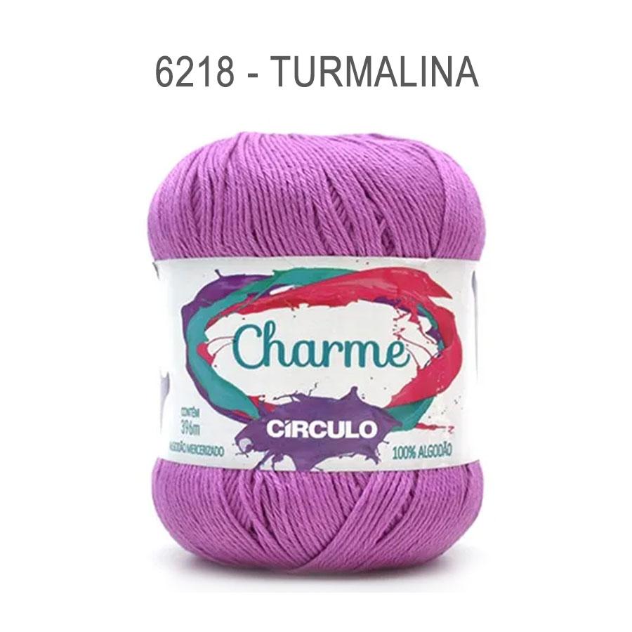 Linha Charme 396m Cores Lisas - Circulo - 6218 - Turmalina