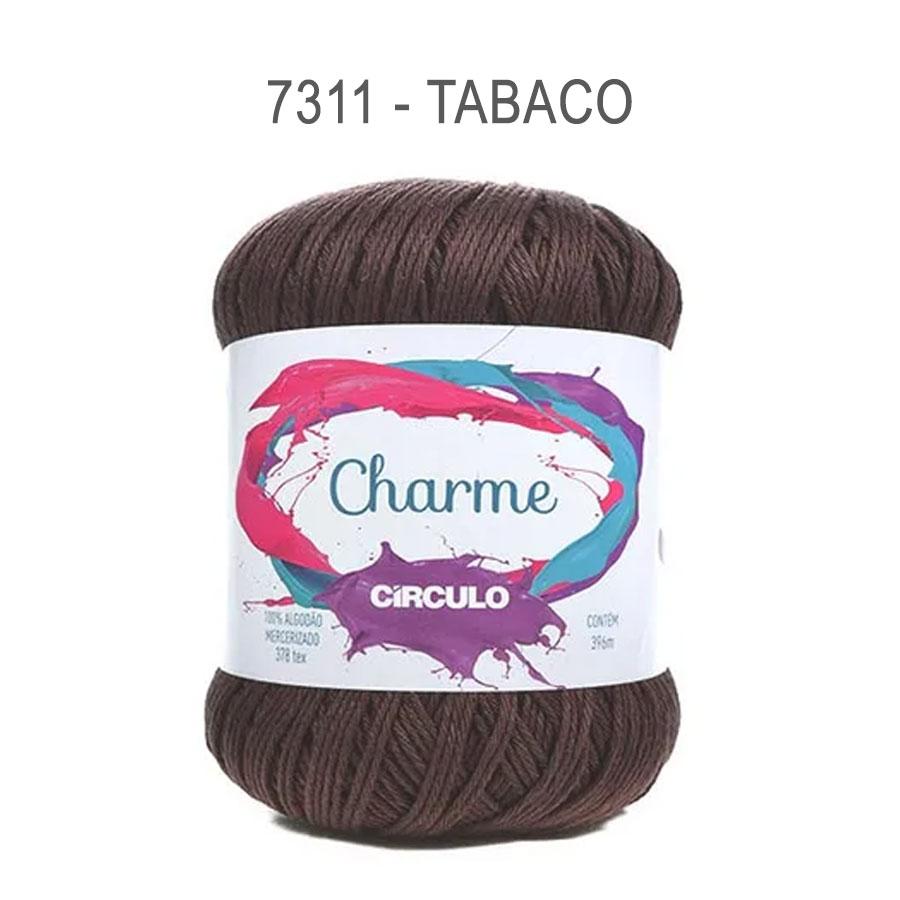 Linha Charme 396m Cores Lisas - Circulo - 7311 - Tabaco