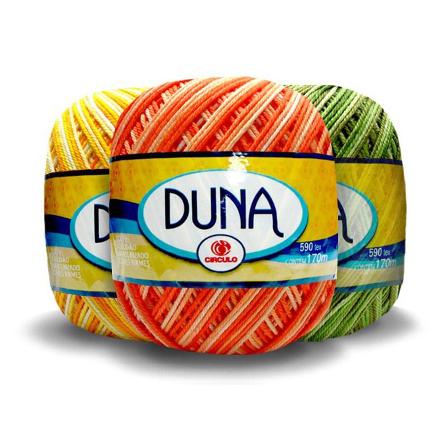 Linha Duna 100g Multicolor - Circulo