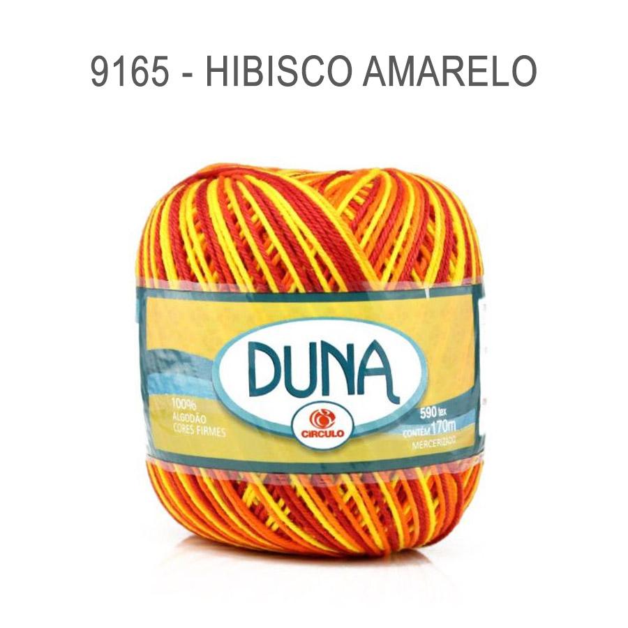 Linha Duna 100g Multicolor - Circulo - 9165 - Hibisco Amarelo