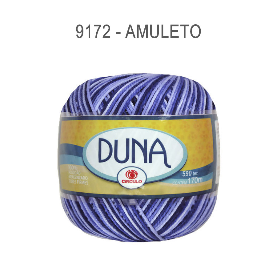 Linha Duna 100g Multicolor - Circulo - 9172 - Amuleto