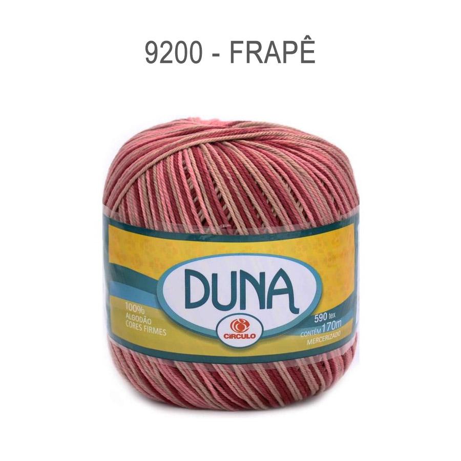 Linha Duna 100g Multicolor - Circulo - 9200 - Frapê