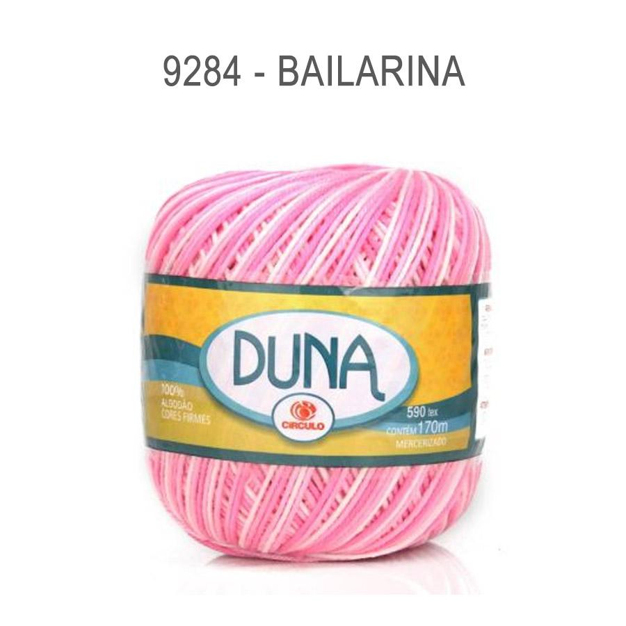 Linha Duna 100g Multicolor - Circulo - 9284 - Bailarina