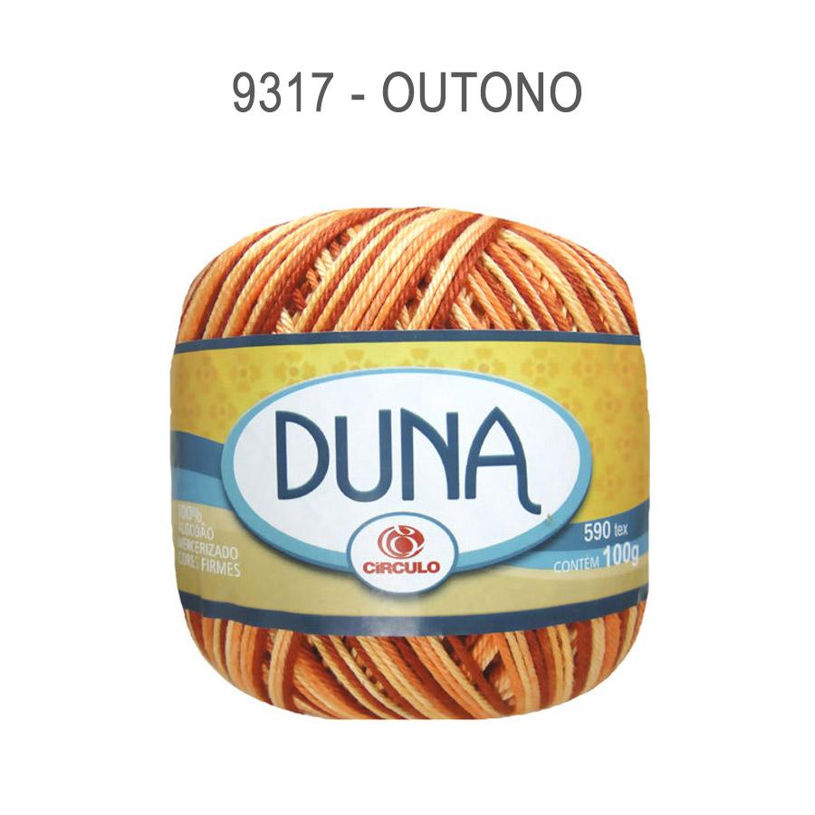 Linha Duna 100g Multicolor - Circulo - 9317 - Outono