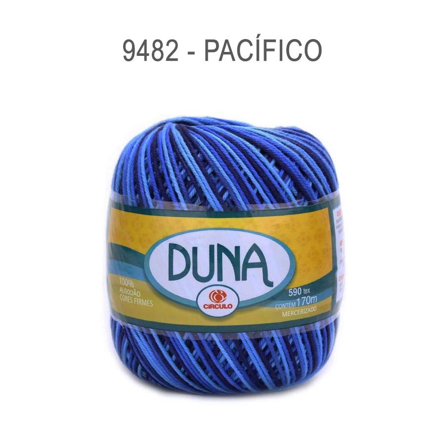 Linha Duna 100g Multicolor - Circulo - 9482 - Pacifico