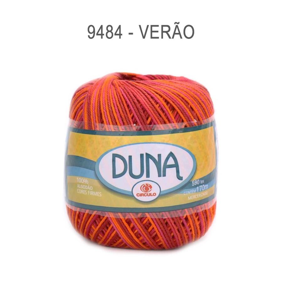 Linha Duna 100g Multicolor - Circulo - 9484 - Verão