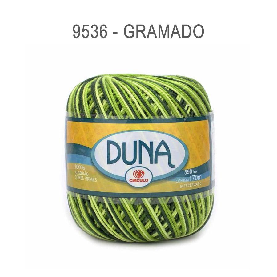 Linha Duna 100g Multicolor - Circulo - 9536 - Gramado