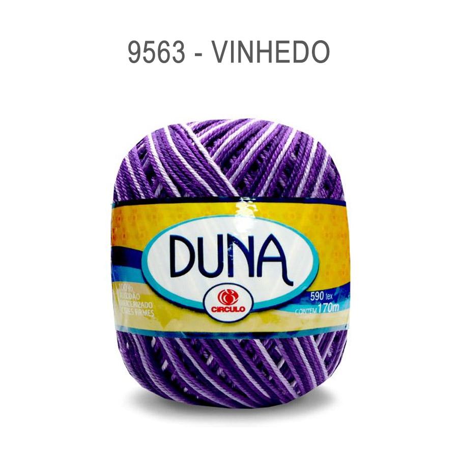 Linha Duna 100g Multicolor - Circulo - 9563 - Vinhedo
