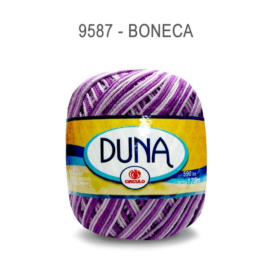 Linha Duna 100g Multicolor - Circulo - 9587 - Boneca