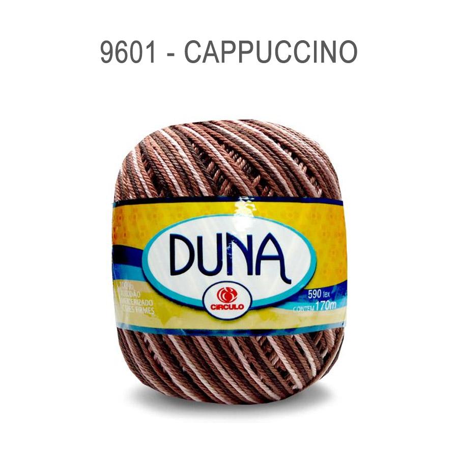 Linha Duna 100g Multicolor - Circulo - 9601 - Cappuccino