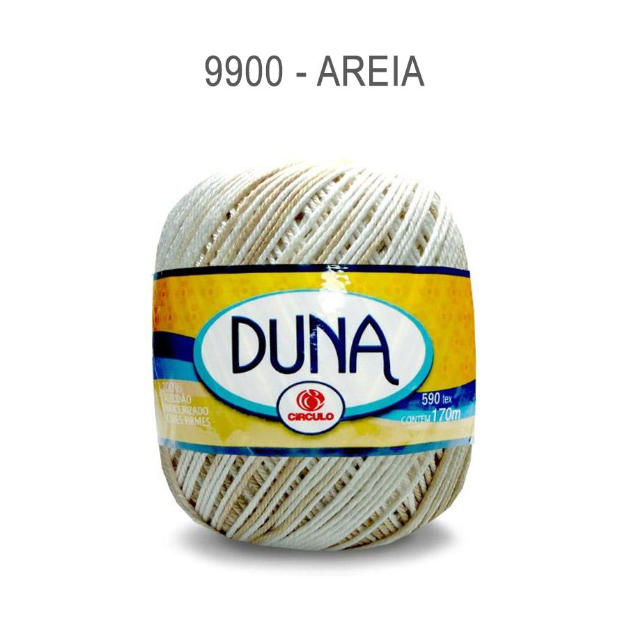 Linha Duna 100g Multicolor - Circulo - 9900 - Areia