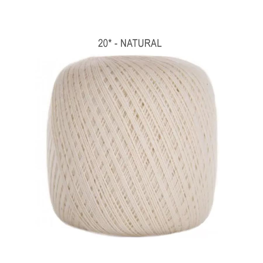 Linha Cléa 1000 Cores Lisas - Circulo - 20 - Natural