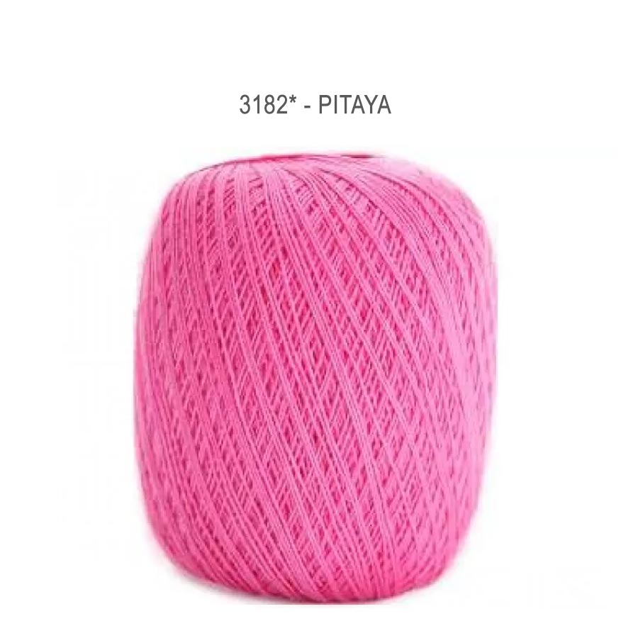 Linha Cléa 1000 Cores Lisas - Circulo - 6085 - Pitaya
