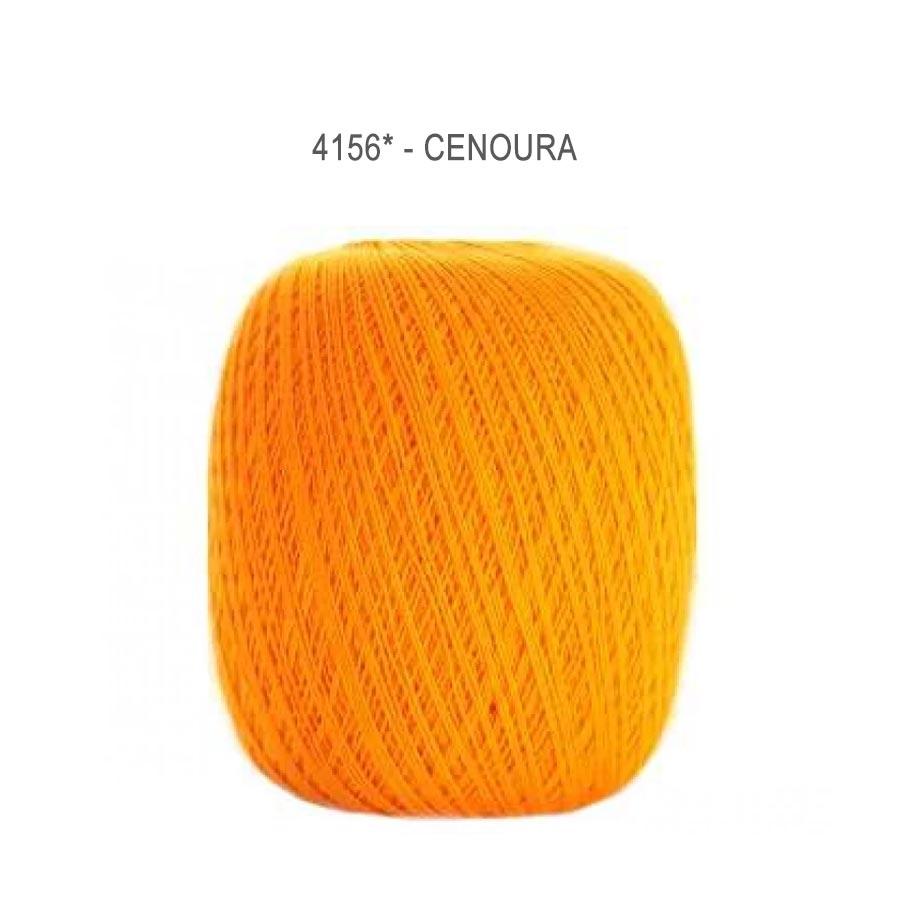 Linha Cléa 1000 Cores Lisas - Circulo - 4156 - Cenoura