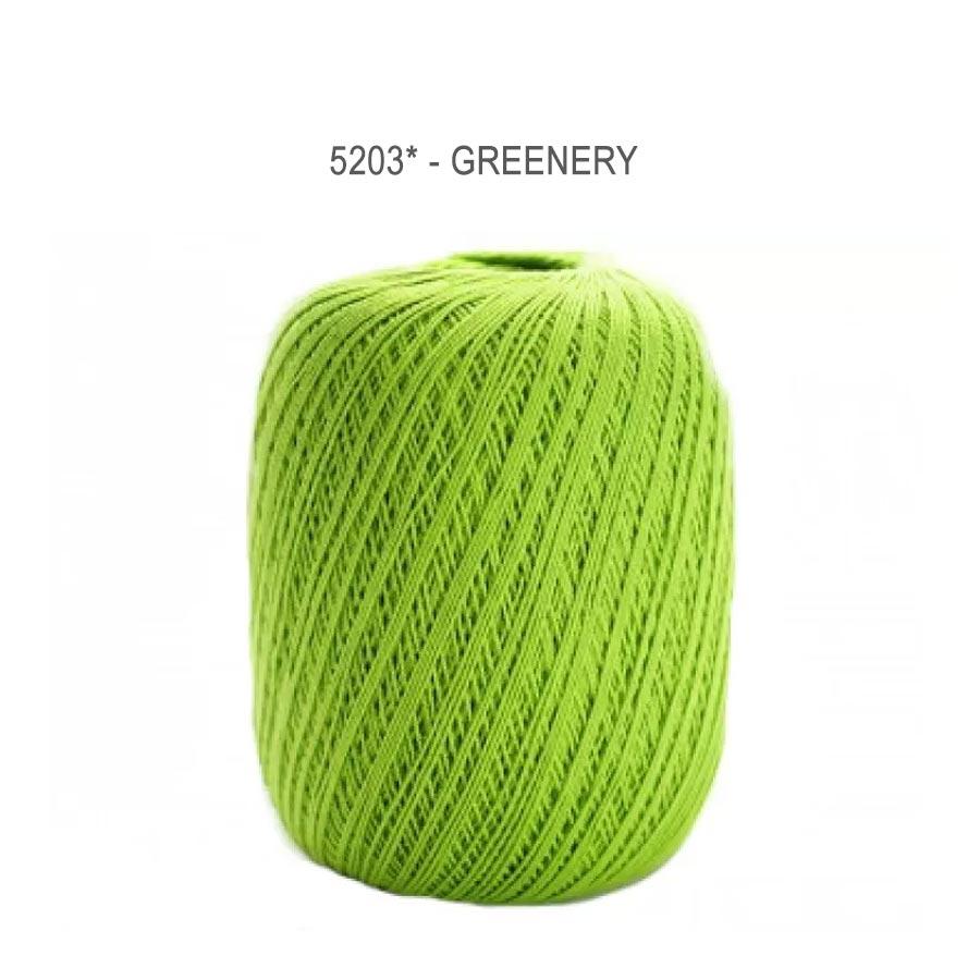 Linha Cléa 1000 Cores Lisas - Circulo - 5203 - Greenery