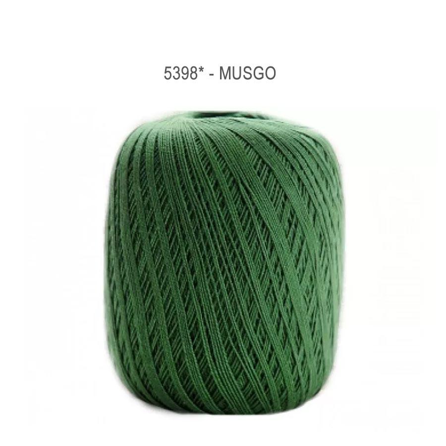 Linha Cléa 1000 Cores Lisas - Circulo - 5398 - Musgo