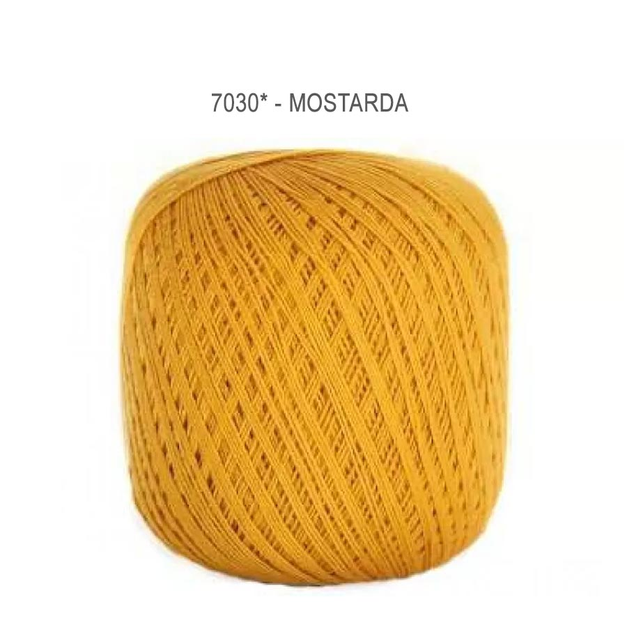 Linha Cléa 1000 Cores Lisas - Circulo - 7030 - Mostarda