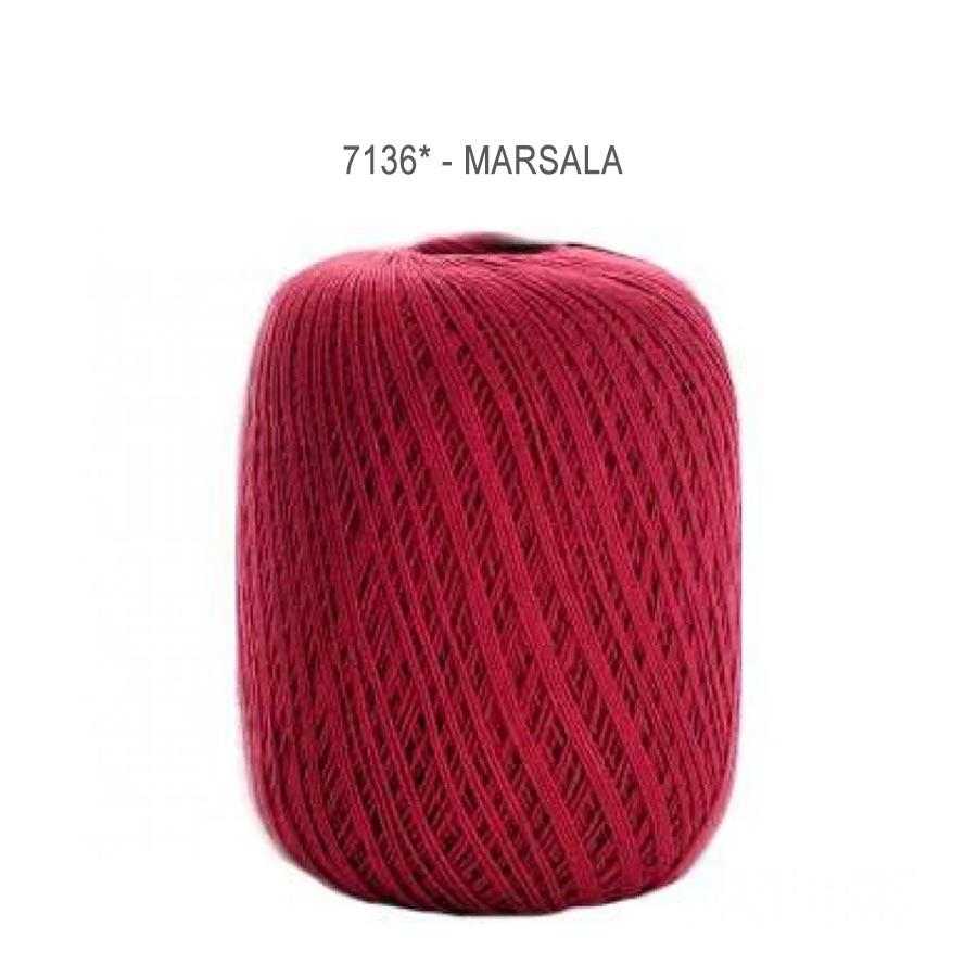 Linha Cléa 1000 Cores Lisas - Circulo - 7136 - Marsala