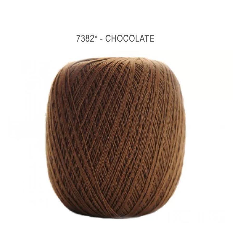 Linha Cléa 1000 Cores Lisas - Circulo - 7382 - Chocolate