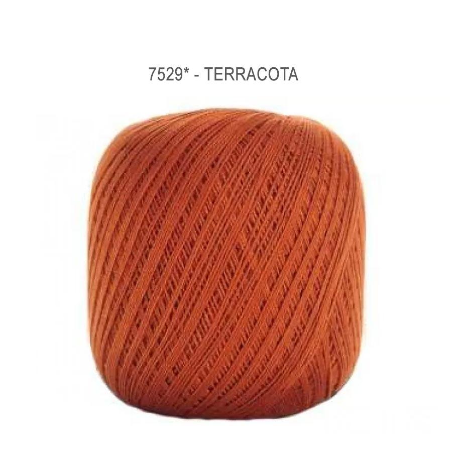 Linha Cléa 1000 Cores Lisas - Circulo - 7529 - Terracota