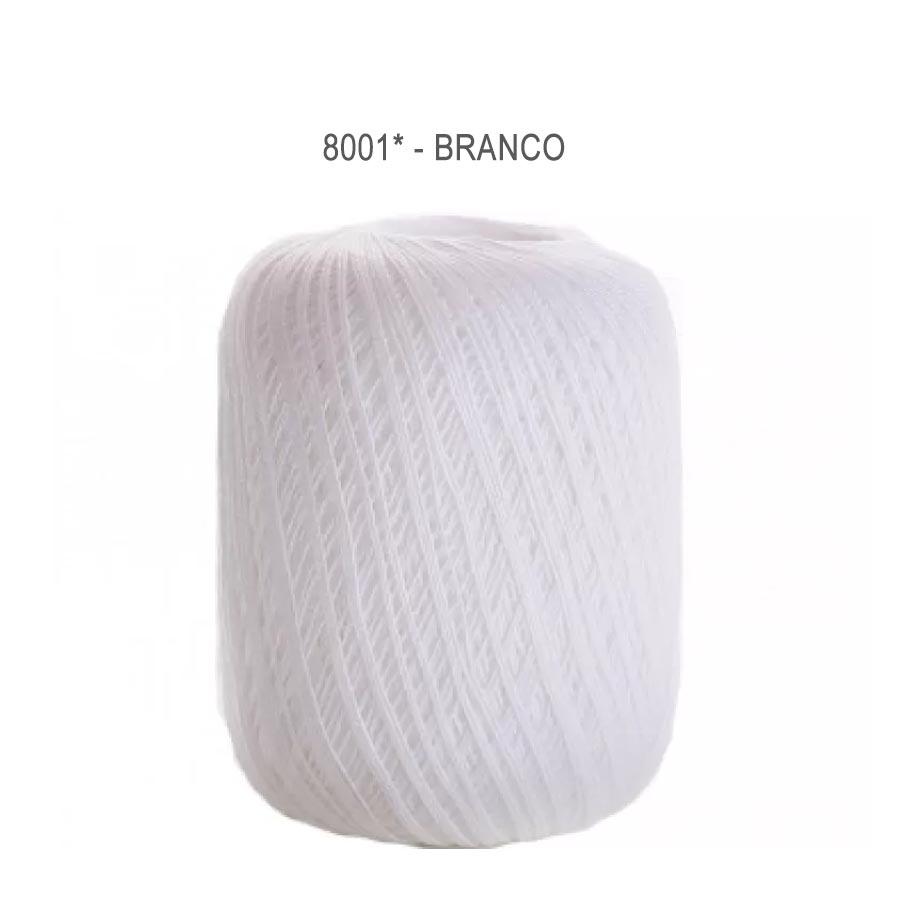 Linha Cléa 1000 Cores Lisas - Circulo - 8001 - Branco