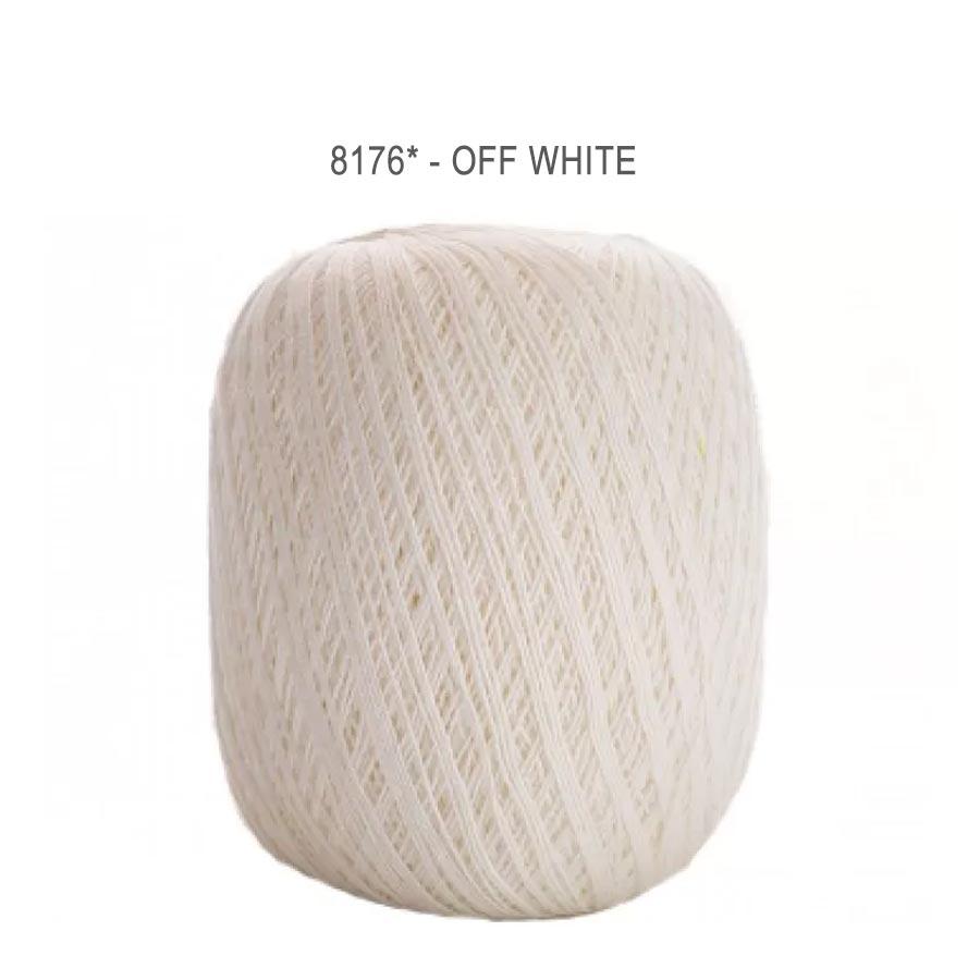Linha Cléa 1000 Cores Lisas - Circulo - 8176 - Off White
