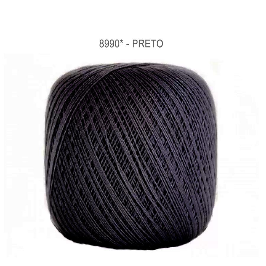 Linha Cléa 1000 Cores Lisas - Circulo - 8990 - Preto