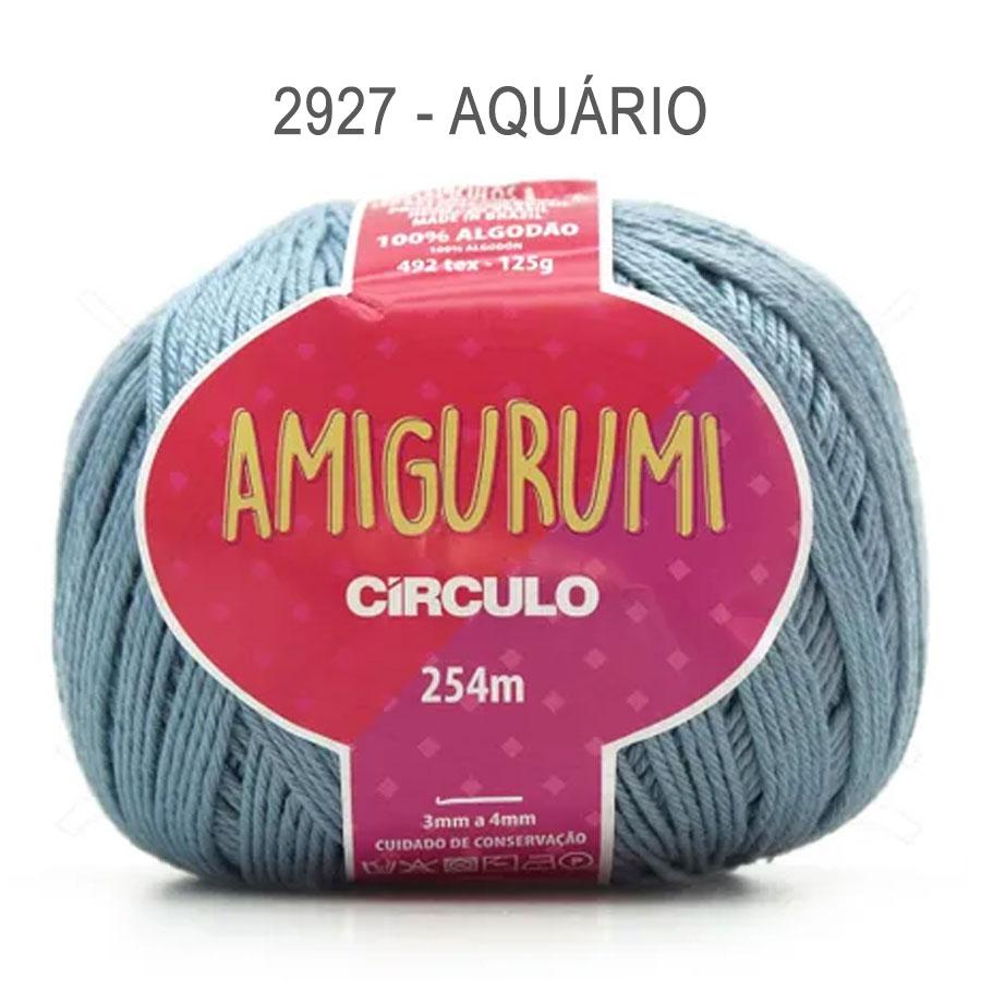 Linha Amigurumi 254m - Circulo - 2927 - Aquário