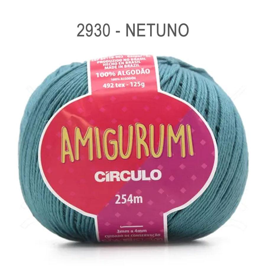 Linha Amigurumi 254m - Circulo - 2930 - Netuno