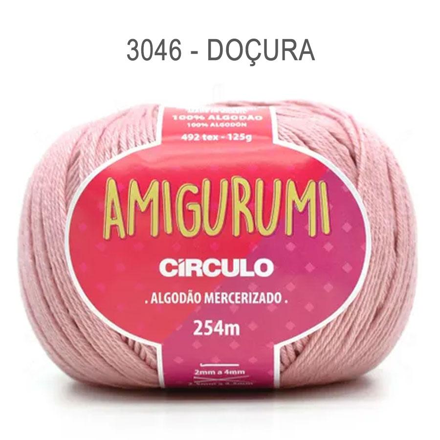 Linha Amigurumi 254m - Circulo - 3046 - Doçura