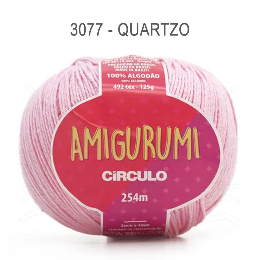 Linha Amigurumi 254m - Circulo - 3077 - Quartzo