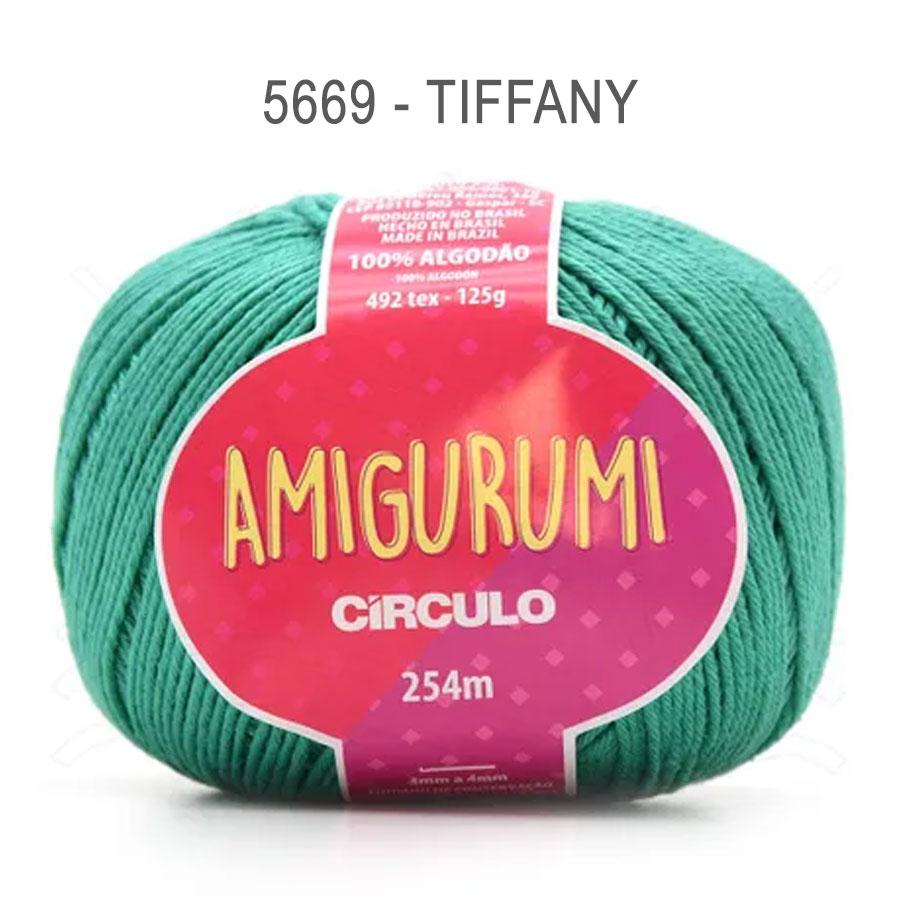 Linha Amigurumi 254m - Circulo - 5669 - Tiffany