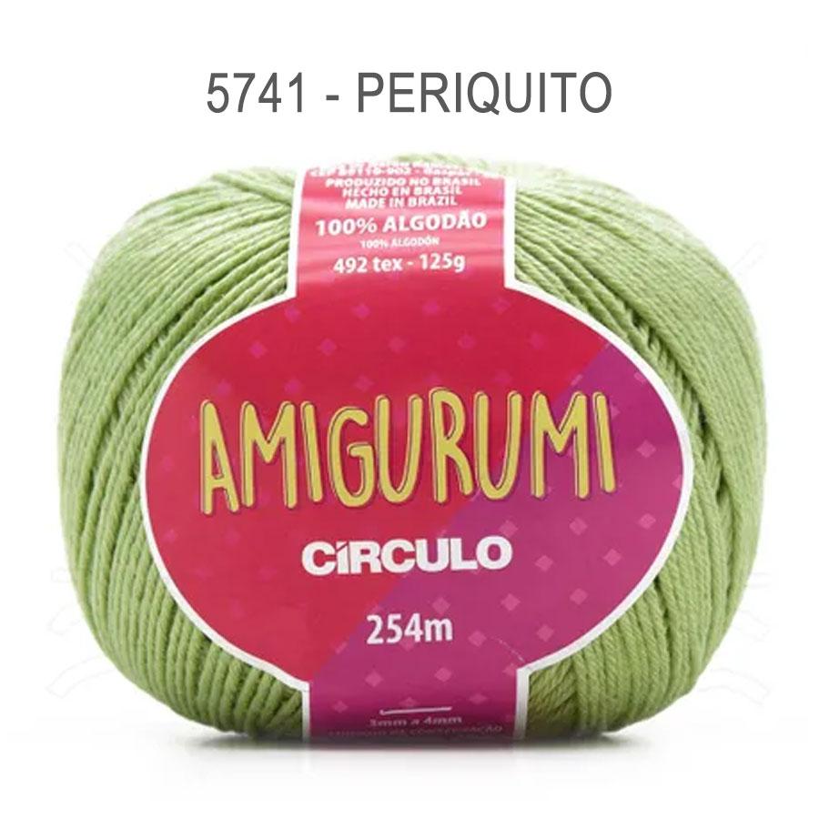 Linha Amigurumi 254m - Circulo - 5741 - Periquito