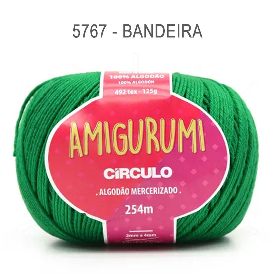 Linha Amigurumi 254m - Circulo - 5767 - Bandeira