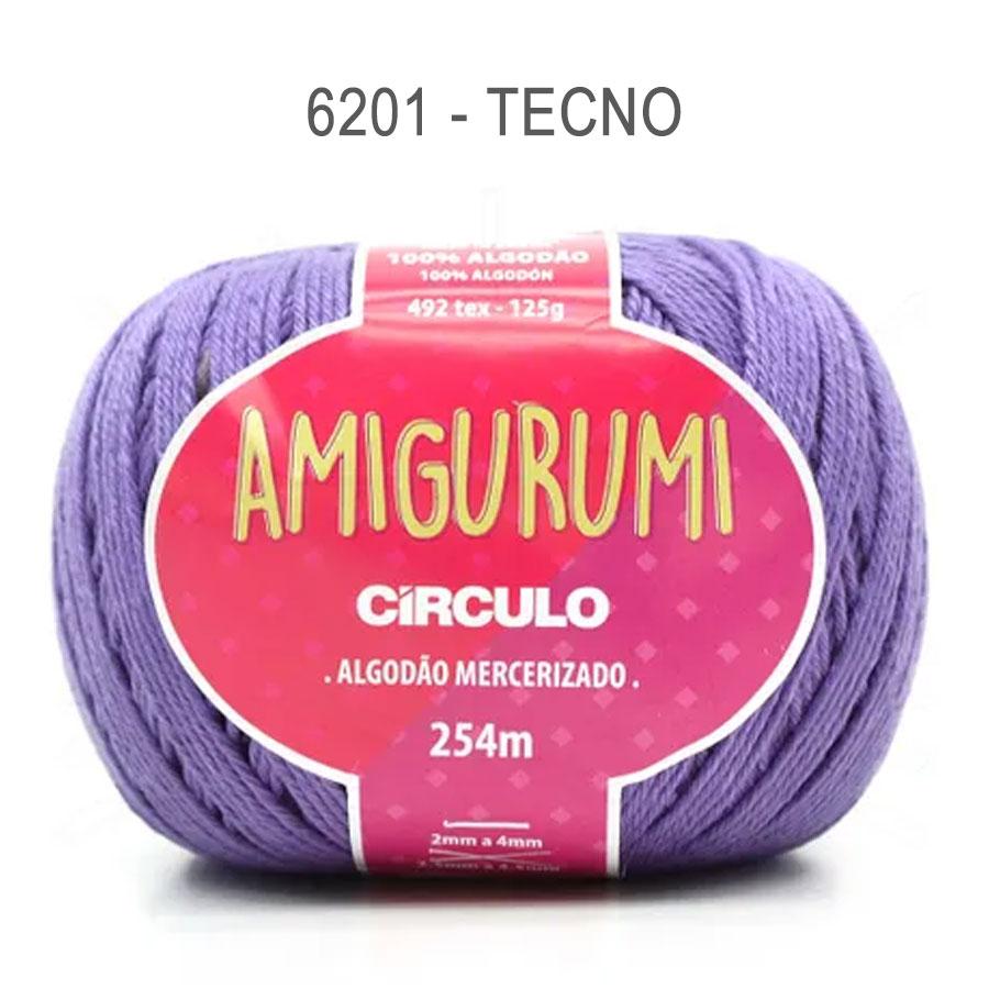 Linha Amigurumi 254m - Circulo - 6201 - Tecno