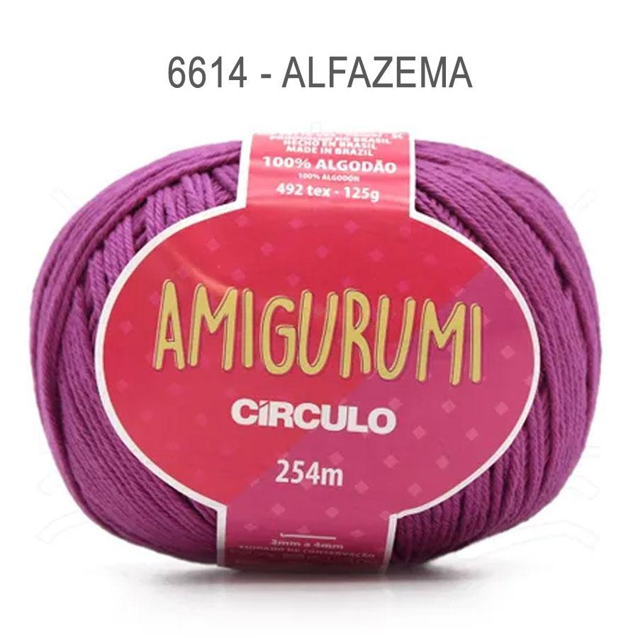 Linha Amigurumi 254m - Circulo - 6614 - Alfazema