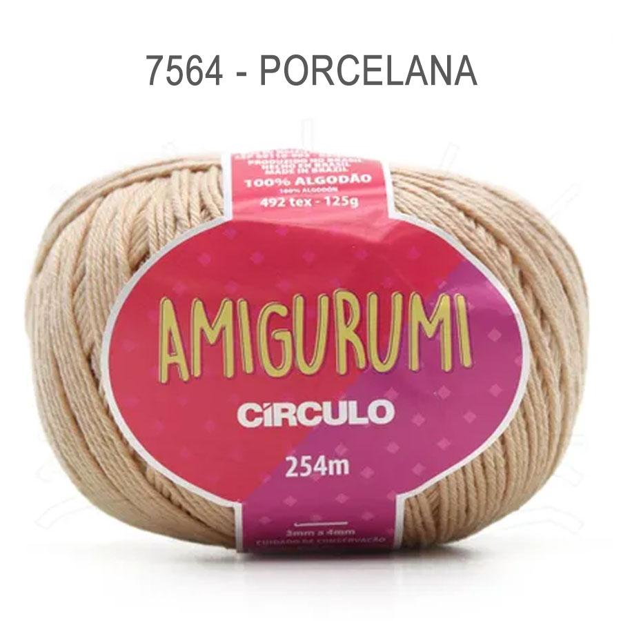 Linha Amigurumi 254m - Circulo - 7564 - Porcelana