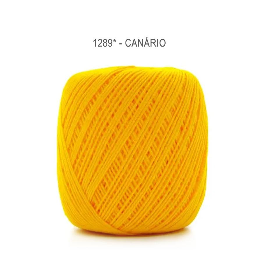 Linha Cléa 125 Cores Lisas - Circulo - 1289 - Canário