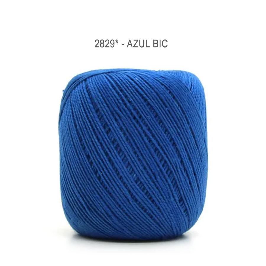 Linha Cléa 125 Cores Lisas - Circulo - 2829 - Azul Bic