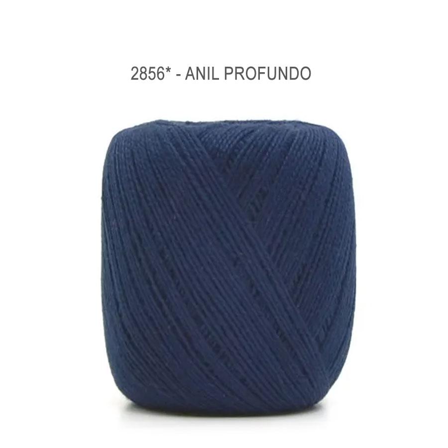 Linha Cléa 125 Cores Lisas - Circulo - 2856 - Anil Profundo