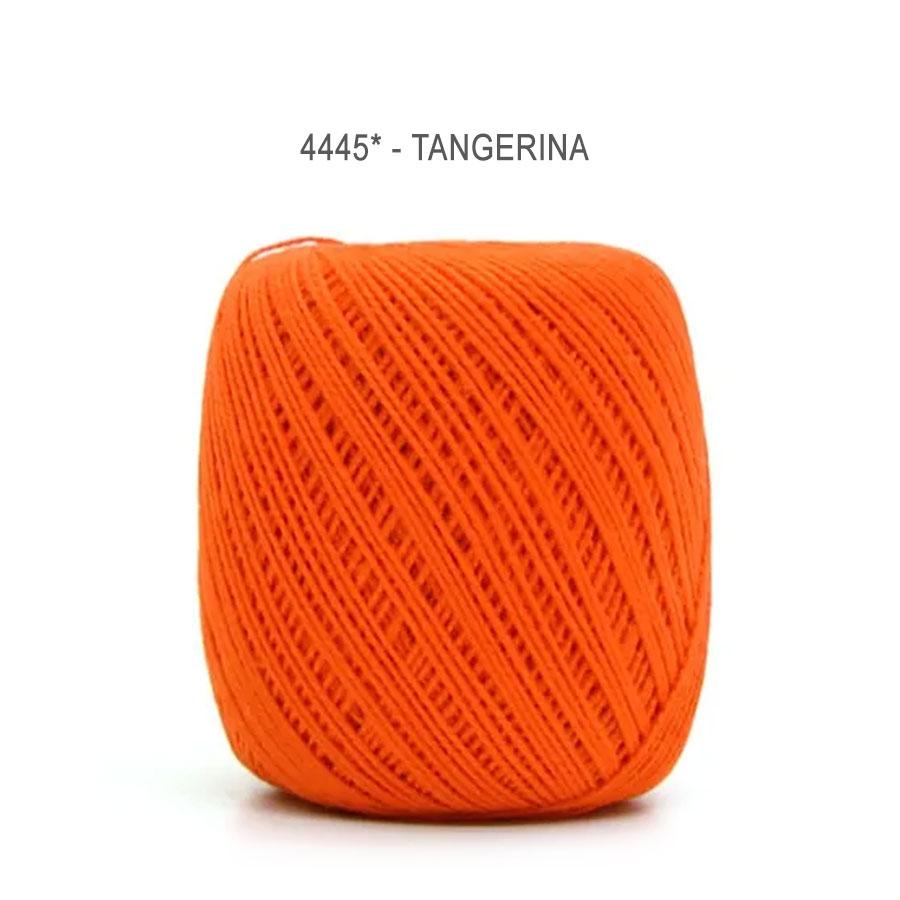 Linha Cléa 125 Cores Lisas - Circulo - 4445 - Tangerina