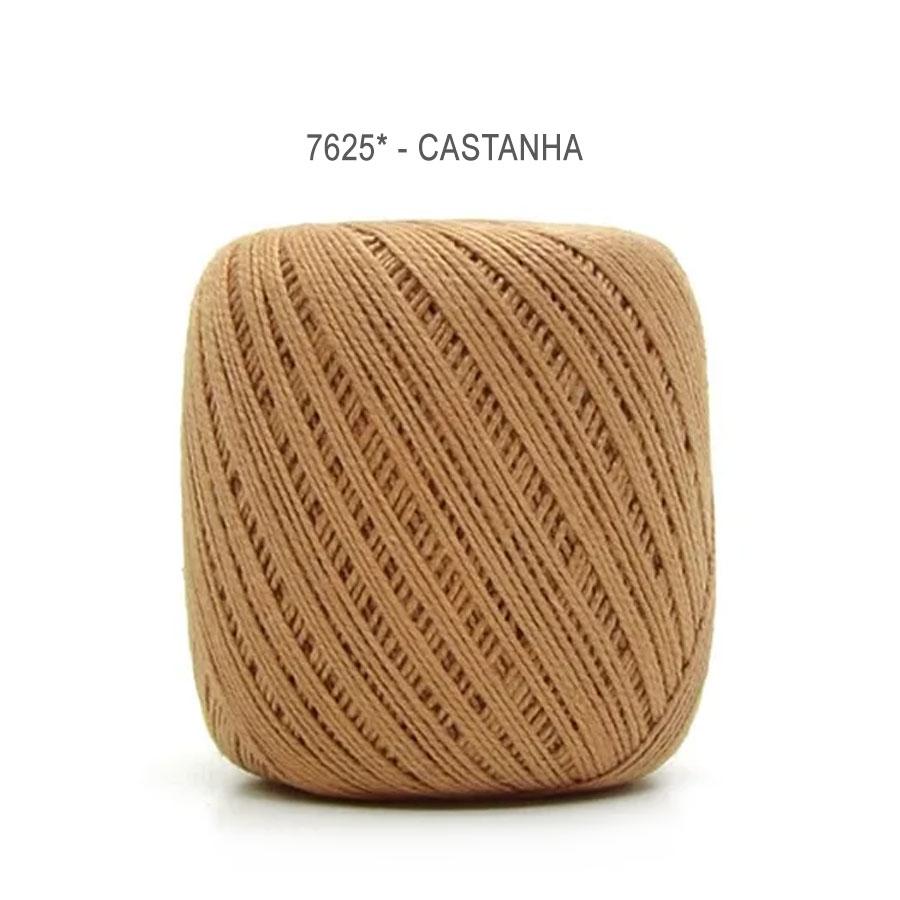 Linha Cléa 125 Cores Lisas - Circulo - 7625 - Castanha